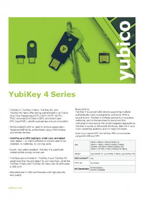 YubiKey4Series